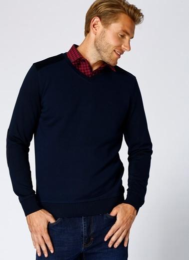 Cotton Bar Sweatshirt Lacivert